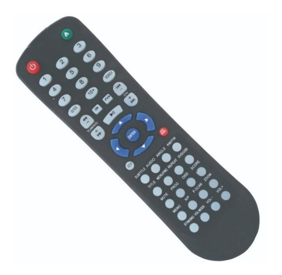 Controle Dvd Lenox Home Theater Rc-204 Rc-214a Ht-70007 6370