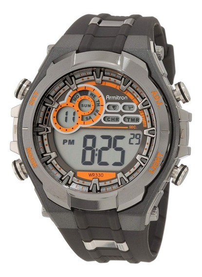 Armitron Sport 40/8188gmg Reloj Digital Con Cronógrafo