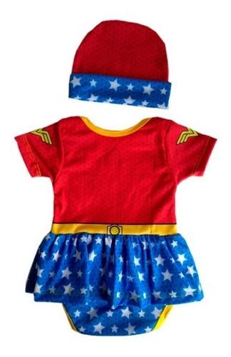 Disfraz Mameluco Bebe Mujer Maravilla - Wonder Woman