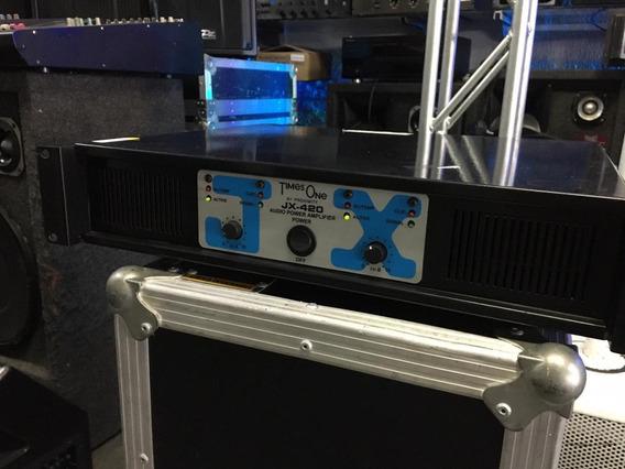Potencia Times One Jx-480 Super Som Potencia De Verdade
