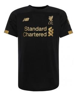 Camisa Time Liverpool Preto - Campeão Inglês - Oferta