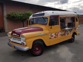 Oportunidad De Emprendimiento Food Truck Chevrolet Apache