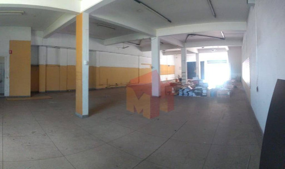Salão Para Alugar, 550 M² Por R$ 7.000/mês - Vila Nossa Senhora De Fátima - Americana/sp - Sl0080