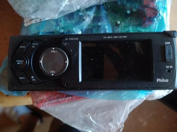 Painel Frente Destacável Auto Rádio Philco Pca550