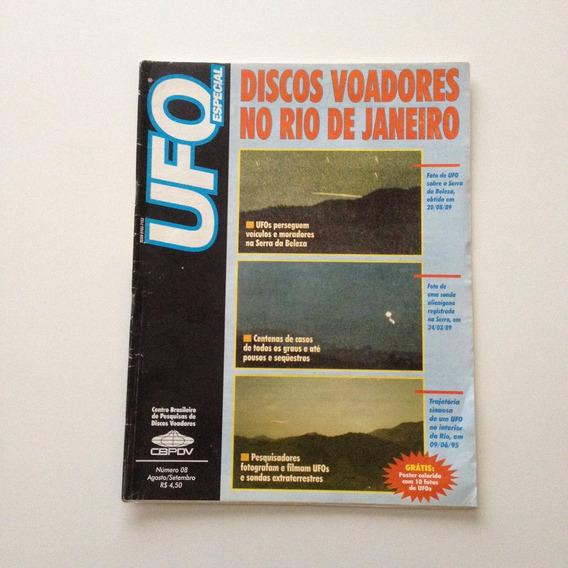 Revista Ufo Especial Discos Voadores No Rio De Janeiro F391