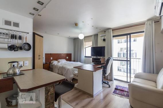 Apartamento Para Aluguel - Itaim Bibi, 1 Quarto, 30 - 892808970