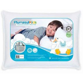 Travesseiro 50% Pluma De Ganso 50% Fibra Siliconizadas Baby