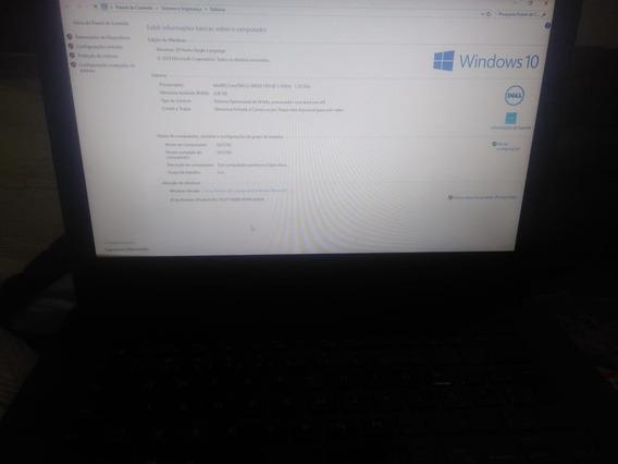Notebook Dell I3 4 Geração Inspirion 3442