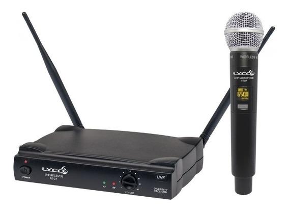 Lyco Uh07m Sistema De Microfone Sem Fio De Mão