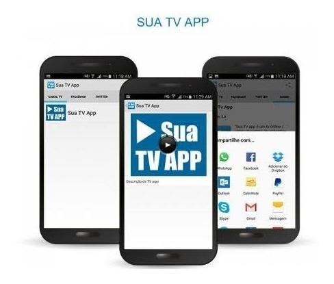 App Tv Modelo Simples