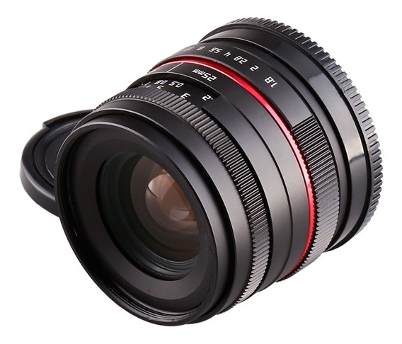 Lente 25mm F1.8 Para Sony E Mount Nex Alpha Hd 6000 6300 A7r