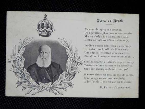 Cartão Postal Dom Pedro Ii