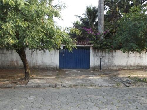 Casa Residencial À Venda, Jussara, Mongaguá. - Ca0501 - 33485807