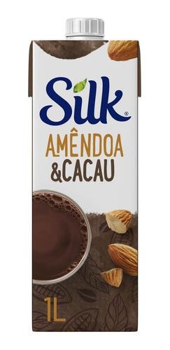 Bebida Vegetal Silk Amêndoa E Cacau 1l