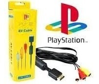 Cable Minicomponete Audio Video Para Playstation Ps1 Ps2 Ps3