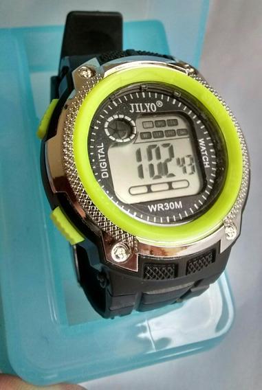 Relógio Sport Academia Caminhada Top Moderno Unissex Barato