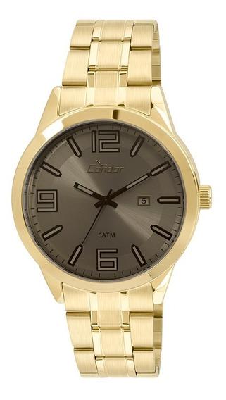 Relógio Masculino Technos Dourado Analógico Co2115xz/4c