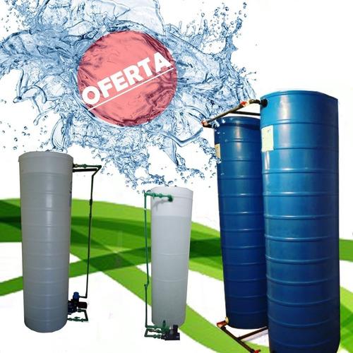 Tanque Cilindrico Agua 520 Litros Decoglass Con Delivery