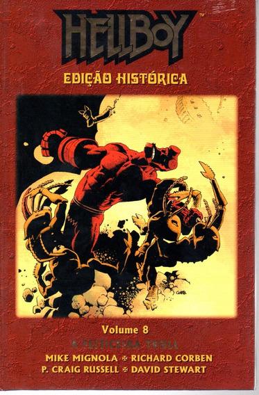 Hellboy Edicao Historica 8 - Mythos 08 - Bonellihq Cx240 L19