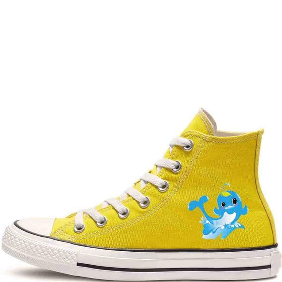 Zapatos Personalizados Delfin Hermosos Envio Gratis 014