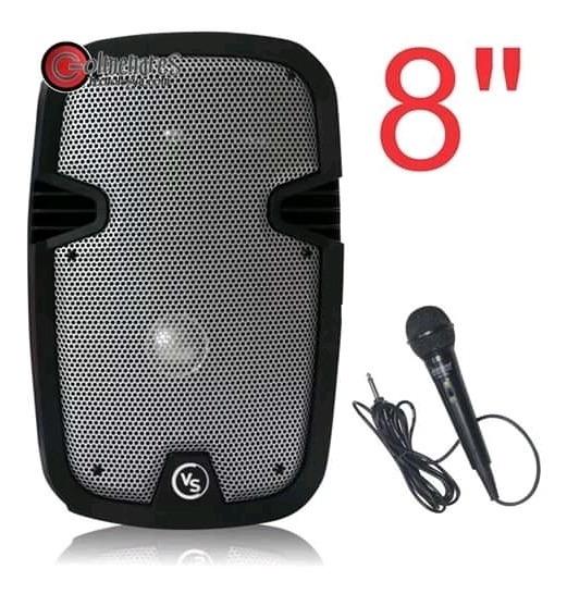 Corneta Amplificada 8 Pulgadas Karaoke Bluetooh Sonivox