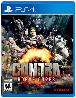 Contra Rogue Corps Ps4 ( D3 Gamers)