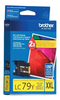 Cartucho Brother Lc79 Xxl Amarillo Original J6710 6910 5910