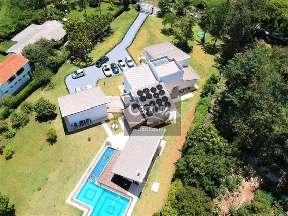 Eu Quero Uma Casa No Campo, Do Tamanho Ideal... E Morar Ao Lado De São Paulo! Chácara No Condomínio Lagos De Shanadu 5.275m² Área Total! - Ch0042