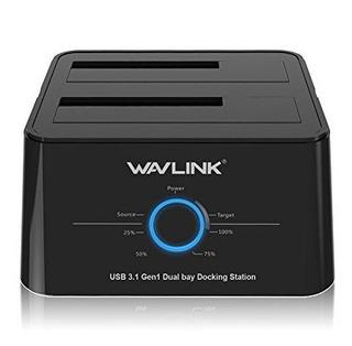 Wavlink Usb C 3.1 A La Estacion De Acoplamiento De Disco Dur
