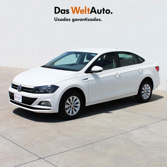 Volkswagen Virtus 2020 Comfortline 1.6 Std Blanco