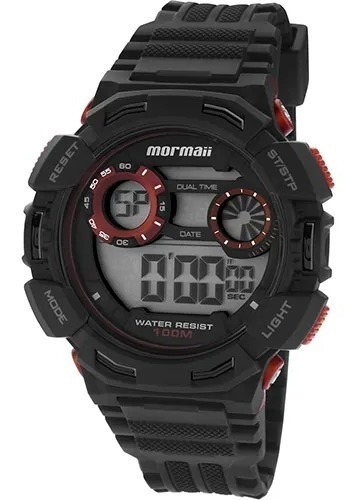Relógio Masculino Mormaii Digital Esportivo A Prova D