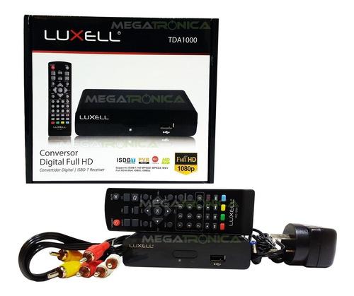 Decodificador Sintonizador Tda Tv Digital Hd Luxell Hdmi Av