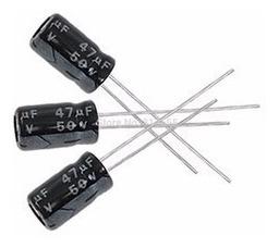 Pack X 5 Capacitor Electrolitico 47uf 50v 105c 6.3 X 12mm