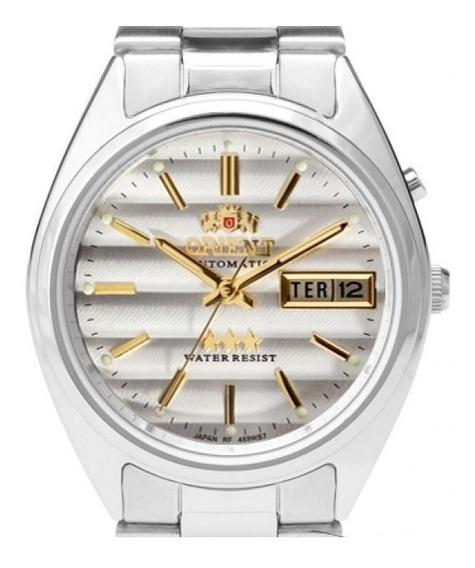 Relógio Orient Automático 469wa3 Tradicional Clássico Prata