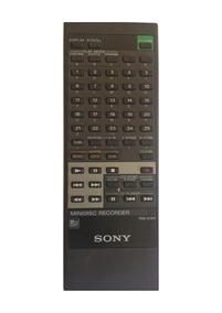 Controle Remoto Para Minidisc Sony Rm-d3 Original