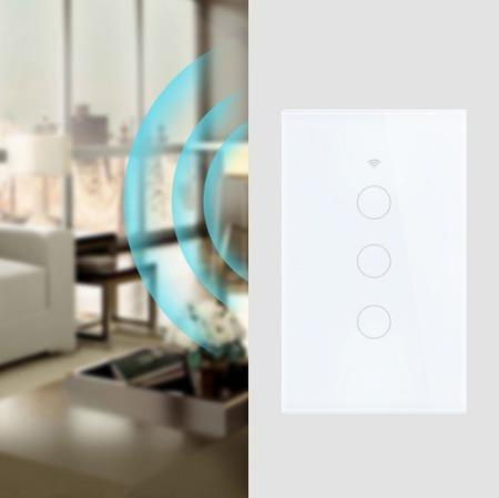Interruptor Wifi, 1 Botão, Casa Inteligente, App Smart Life