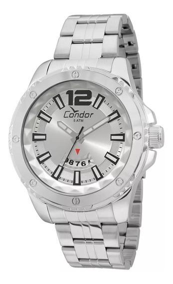 Relogio Condor Co2115wy/3k Aço Grande Pesado Ostentação