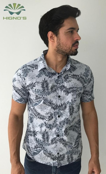Kit Com 03 Camisas Social Estampada / Floral
