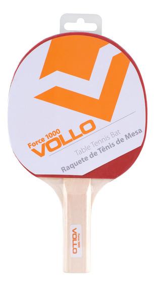 Raquete Tênis De Mesa Ping Pong Force 1000 Vollo Vt601