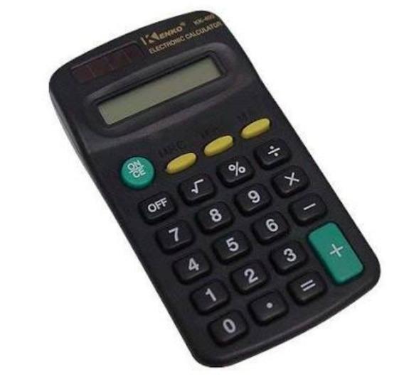 Atacado!kit 30 Calculadoras Kk-402.pilha Aa.revenda