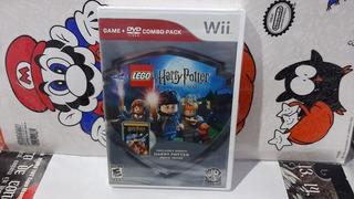Lego Harry Potter Years 1-4 Juego Y Pelicula De Wii Nuevo.