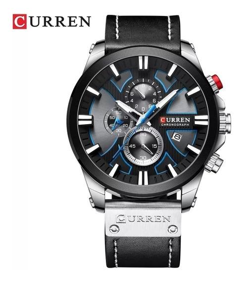 Relógio Masculino Curren 8346 Promoção Envio Imediato