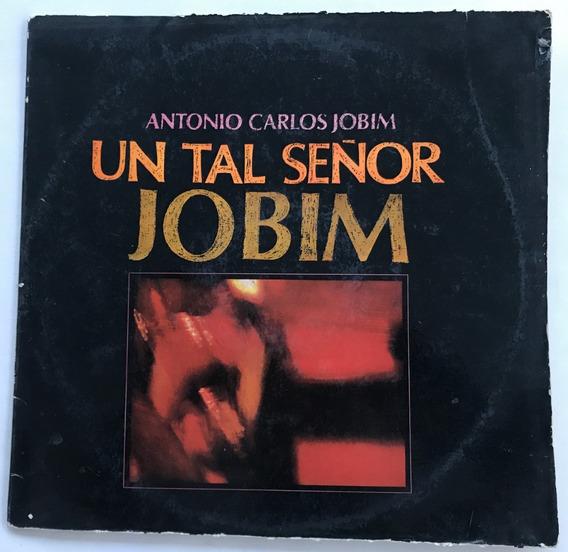 Disco Antonio Carlos Jobim Un Tal Señor Jobim Vinilo