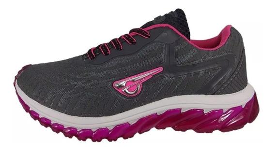 Sapato Esportivo Glk Original Feminino Corrida Oferta Grátis