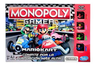 Juego De Mesa Monopoly Gamer Mario Kart Hasbro E1870 Full