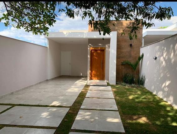 Casa Nova E Moderna - Lote 192 M2, Pronta Pra Financiar