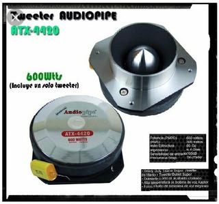 Tweteer Tipo Bala Audio Pipe 600w Original