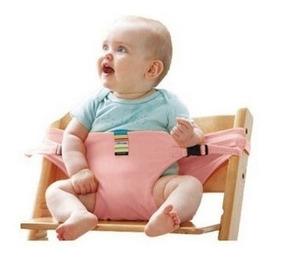 Cadeira De Pano Bebê Alimentação Portátil