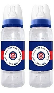 Mlb Chicago Cubs Baby Bottles, 2-pack