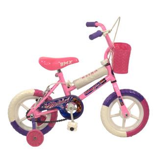 Bicicleta Rodado 12 Bmx Nena/varon Macizas Reforzada